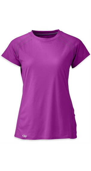 Outdoor Research W's Echo S/S Tee Ultraviolet/Elderberry